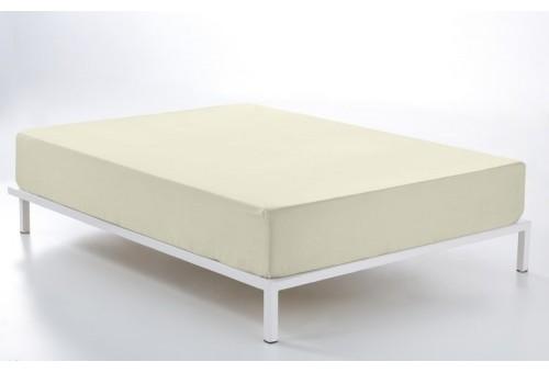 Bajera ajustable COMBI LISOS. 100% algodón (200 hilos) 255-MARFIL