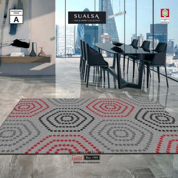Sualsa Carpet | Frisse J21 Gray