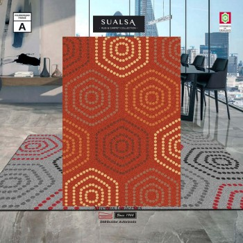 Tapis Sualsa | Frisse J21 Orange