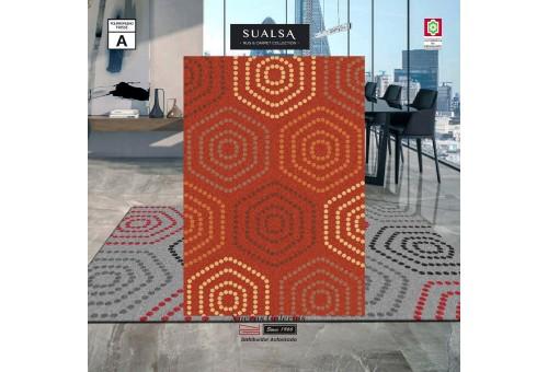 Tappeto Sualsa | Frisse J21 Orange