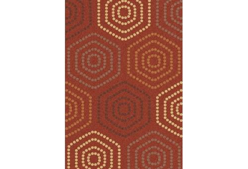 Tapis Sualsa | Frisse J21 Orange