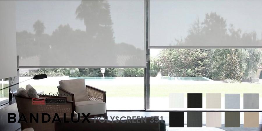 Estor Enrollable Premium Plus | Polyscreen 351 Bandalux