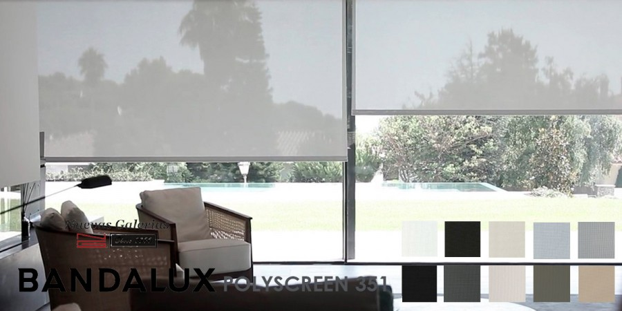 Store enrouleur Bandalux Premium Plus | Polyscreen 351