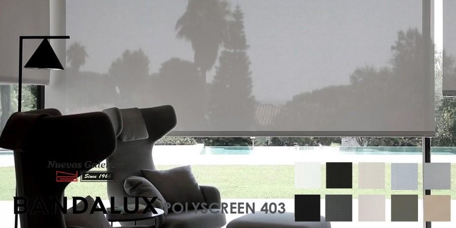 Store enrouleur Bandalux Premium Plus | Polyscreen 403