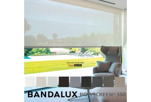 Roller Shade Bandalux Premium Plus   Polyscreen 550