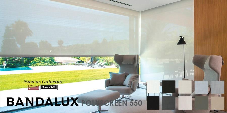 Store enrouleur Bandalux Premium Plus | Polyscreen 550