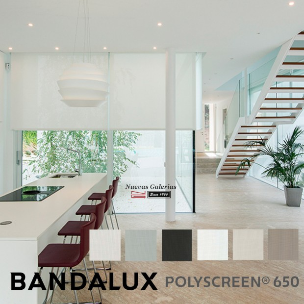 Roller Shade Bandalux Premium Plus | Polyscreen 650