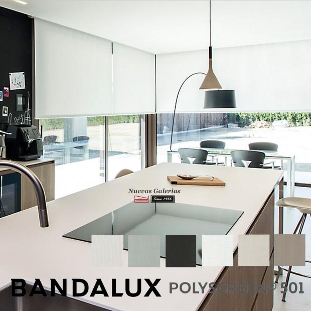 Store enrouleur Bandalux Premium Plus   Polyscreen 501