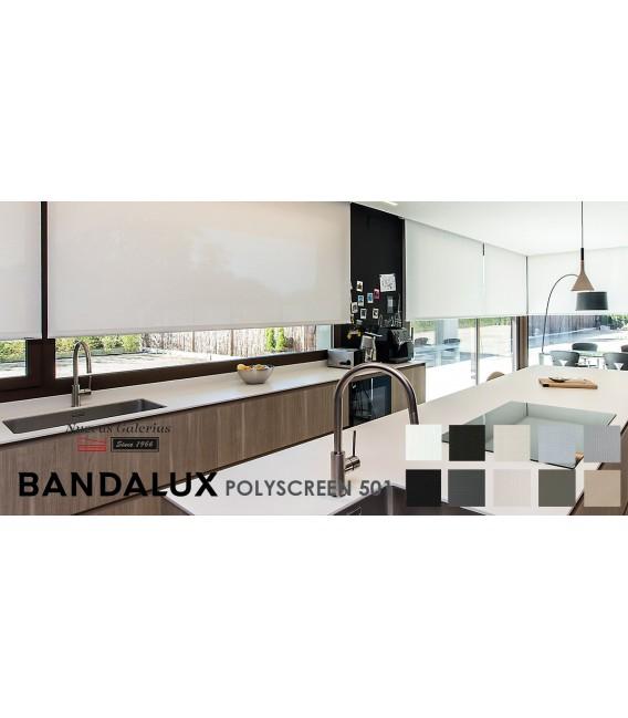 Rollo Maßanfertigung Bandalux Premium Plus | Polyscreen 501