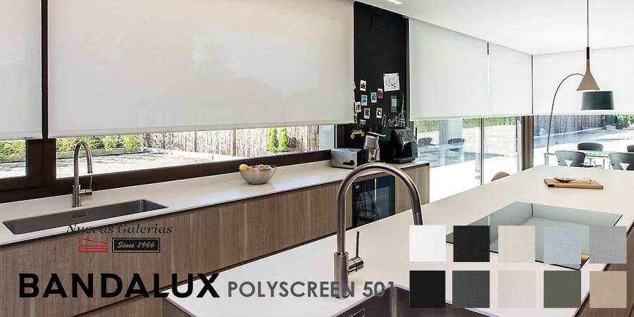 Store enrouleur Bandalux Premium Plus | Polyscreen 501