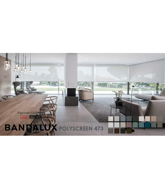 Rollo Maßanfertigung Bandalux Premium Plus | Polyscreen 473