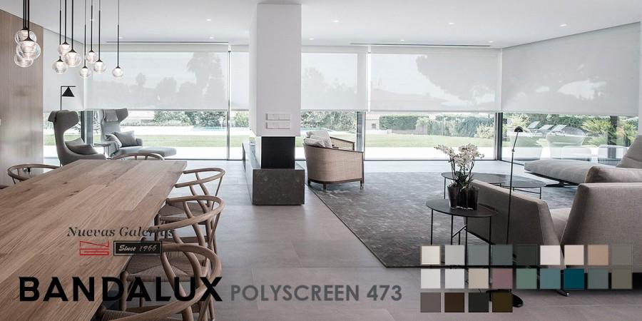 Store enrouleur Bandalux Premium Plus | Polyscreen 473