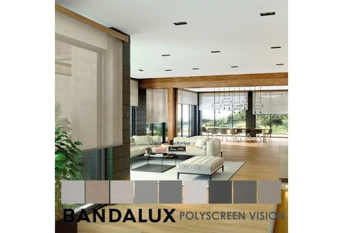 Estor Enrollable Premium Plus   Polyscreen Vision Bandalux