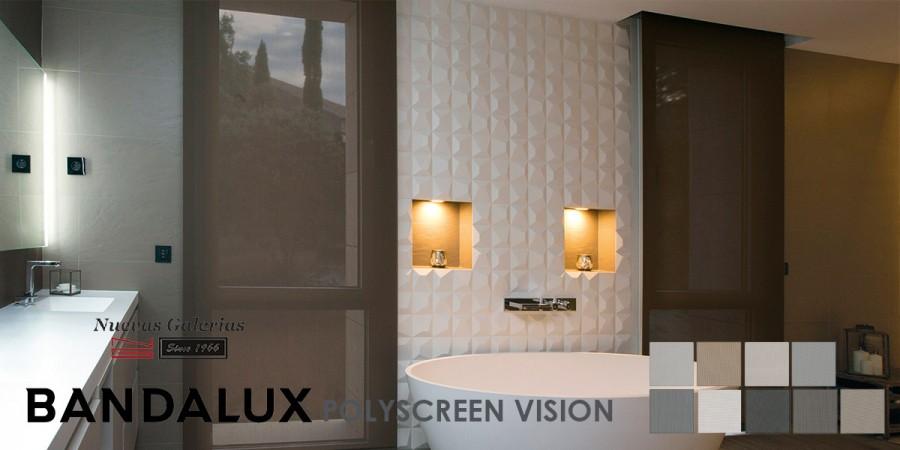 Estor Enrollable Premium Plus | Polyscreen Vision Bandalux