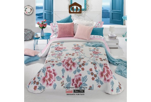 Manterol Bedcover 631-14 | Carmen Pink