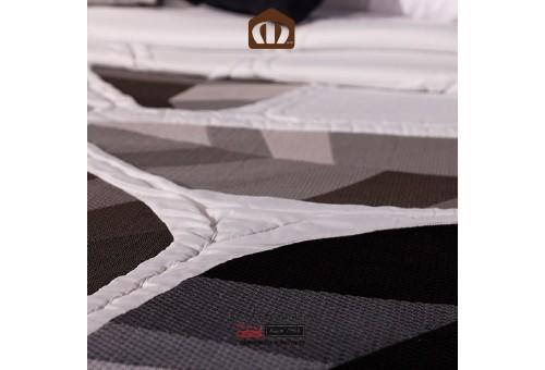 Manterol Bedcover 632-13 | Geo Black