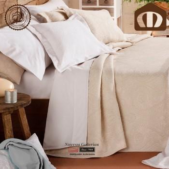Copriletto Trapuntato di cottone Manterol 210-03 | Naroa Beig