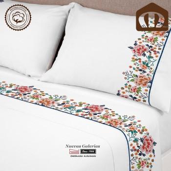 Manterol Sheet Set Cotton | 631-15 Blue