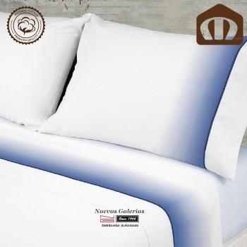 Completo Lenzuola Manterol cotone | 003-08 Blu