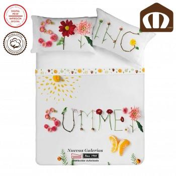 Juego de Sábanas Manterol | Dual Spring-Summer 628 200 hilos de algodón