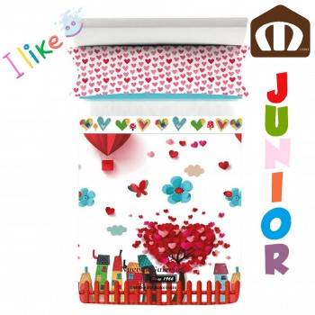 Juego Sabanas Manterol | Decora Junior Arbol Corazon 593