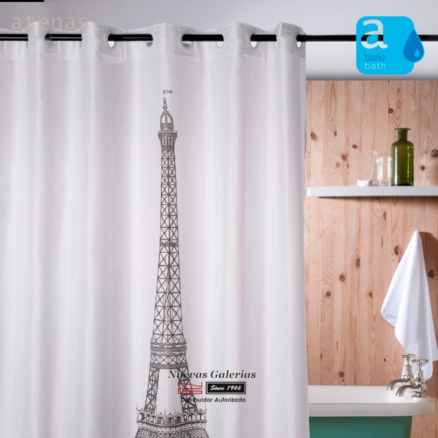 Atenas Shower Curtain | 218 Eiffel
