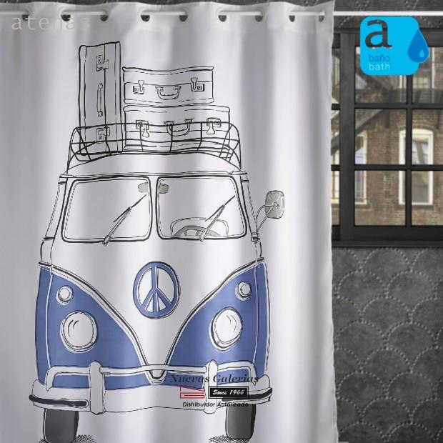 Atenas Shower Curtain   240 Van
