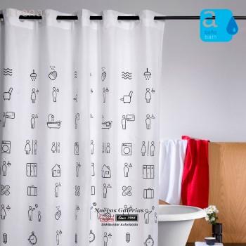 Cortina per doccia Atenas | 225 Icons