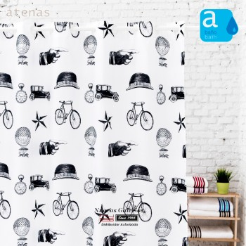 Atenas Shower Curtain | 234 Retro