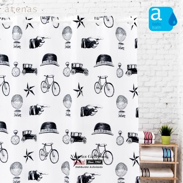 Atenas Shower Curtain | 234 Retro
