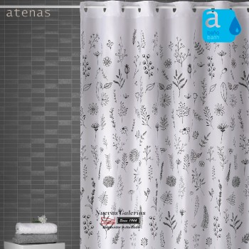 Atenas Shower Curtain | 245 Ramitas