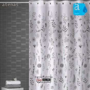 Cortina per doccia Atenas | 245 Ramitas