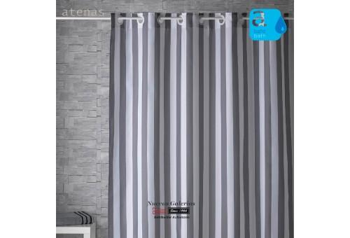 Atenas Shower Curtain | 246 Rayas