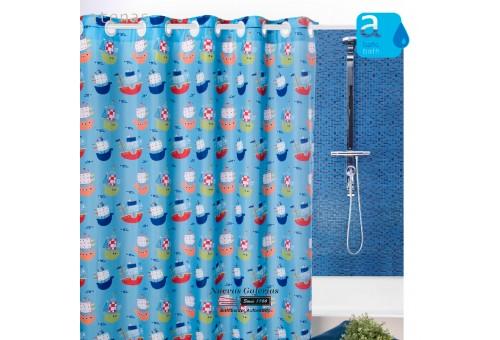 Cortina per doccia Atenas | 222 Barquitos