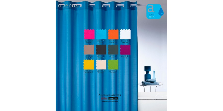 Atenas Shower Curtain | 1040 Magica Color