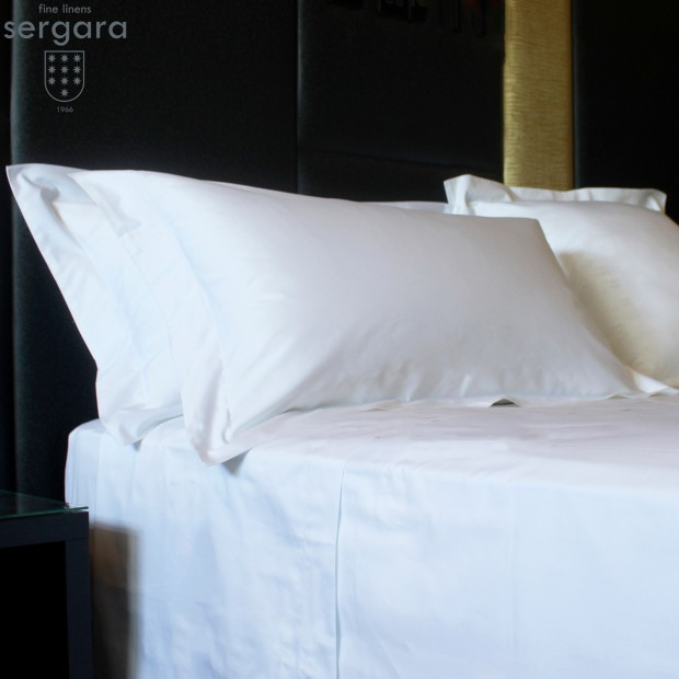 Sergara Flat Sheet 600 Thread Egyptian Cotton Sateen | Essencial