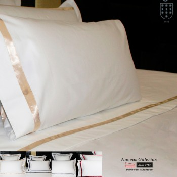 Sergara Flat Sheet 600 Thread Egyptian Cotton Sateen | Illusion