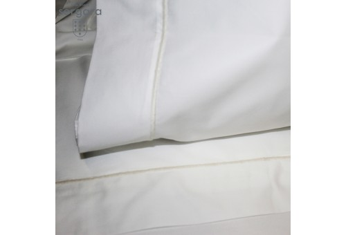 Sergara Flat Sheet 600 Thread Egyptian Cotton Sateen | Bourdon