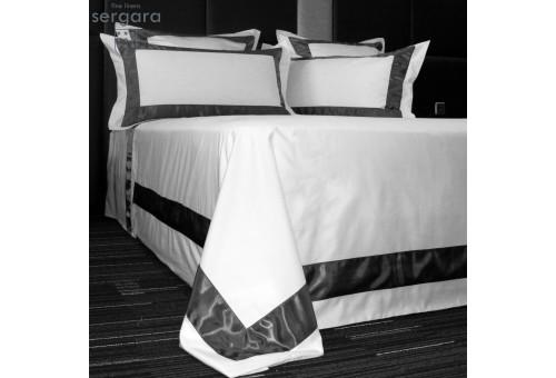 Sergara Duvet Cover 600 Thread Egyptian Cotton Sateen | Bicolor