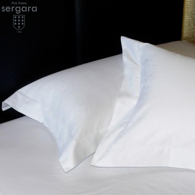Sergara Pillowcase 600 Thread Egyptian Cotton Sateen | Essencial