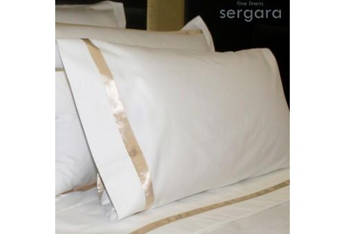Sergara Kissenbezug Ägyptische Baumwolle 600 Fäden | Illusion