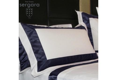 Sergara Pillowcase 600 Thread Egyptian Cotton Sateen | Bicolor