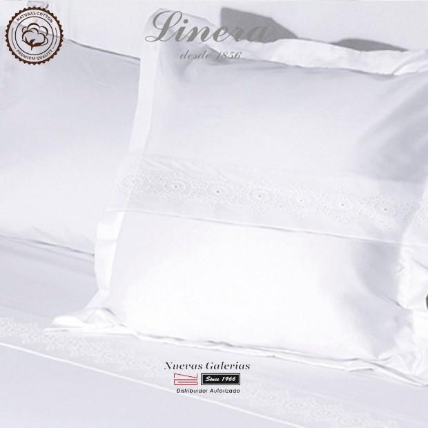 Completo Lenzuola Linera 200 filo cotone | Bianca Bianco