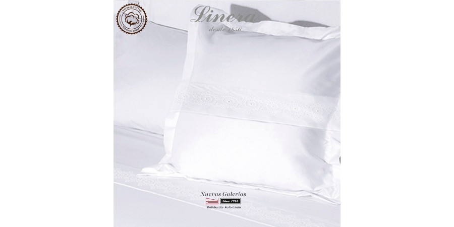 Linera Sheet Set 200 Thread Cotton | Bianca White