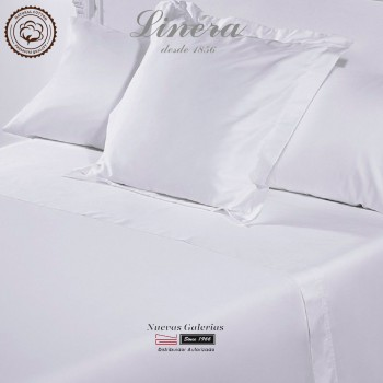 Completo Lenzuola Linera 300 filo cotone | Luxury Bianco