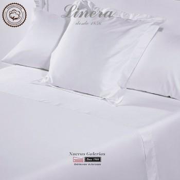 Linera Sommerbettwäsche Baumwolle 300 Fäden | Luxury weiß