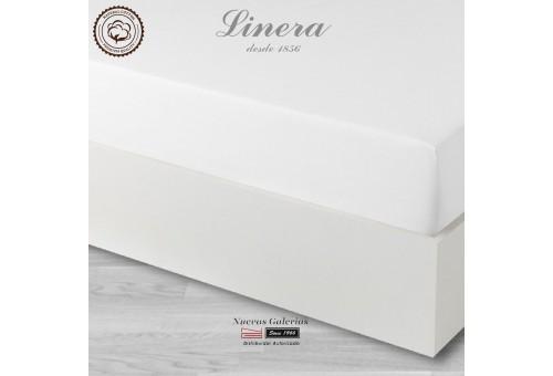 Sabana Bajera Linera   Luxury Blanco 300 hilos