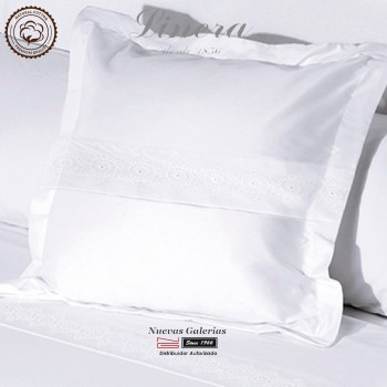 Linera Euro Sham 200 Thread Cotton | Bianca White