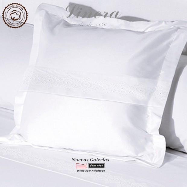 Federe Quadrate Linera 200 filo cotone | Bianca Bianco