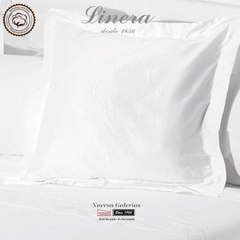 Federe Quadrate Linera 200 filo cotone | Ricamo Bianco